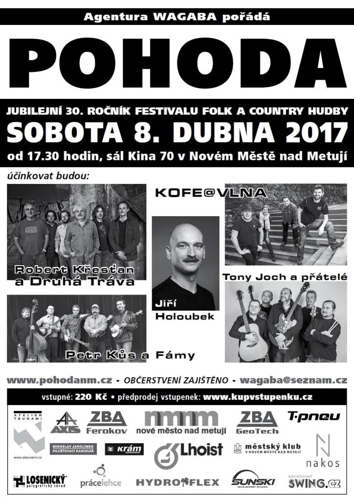 Plakát Pohoda 2017