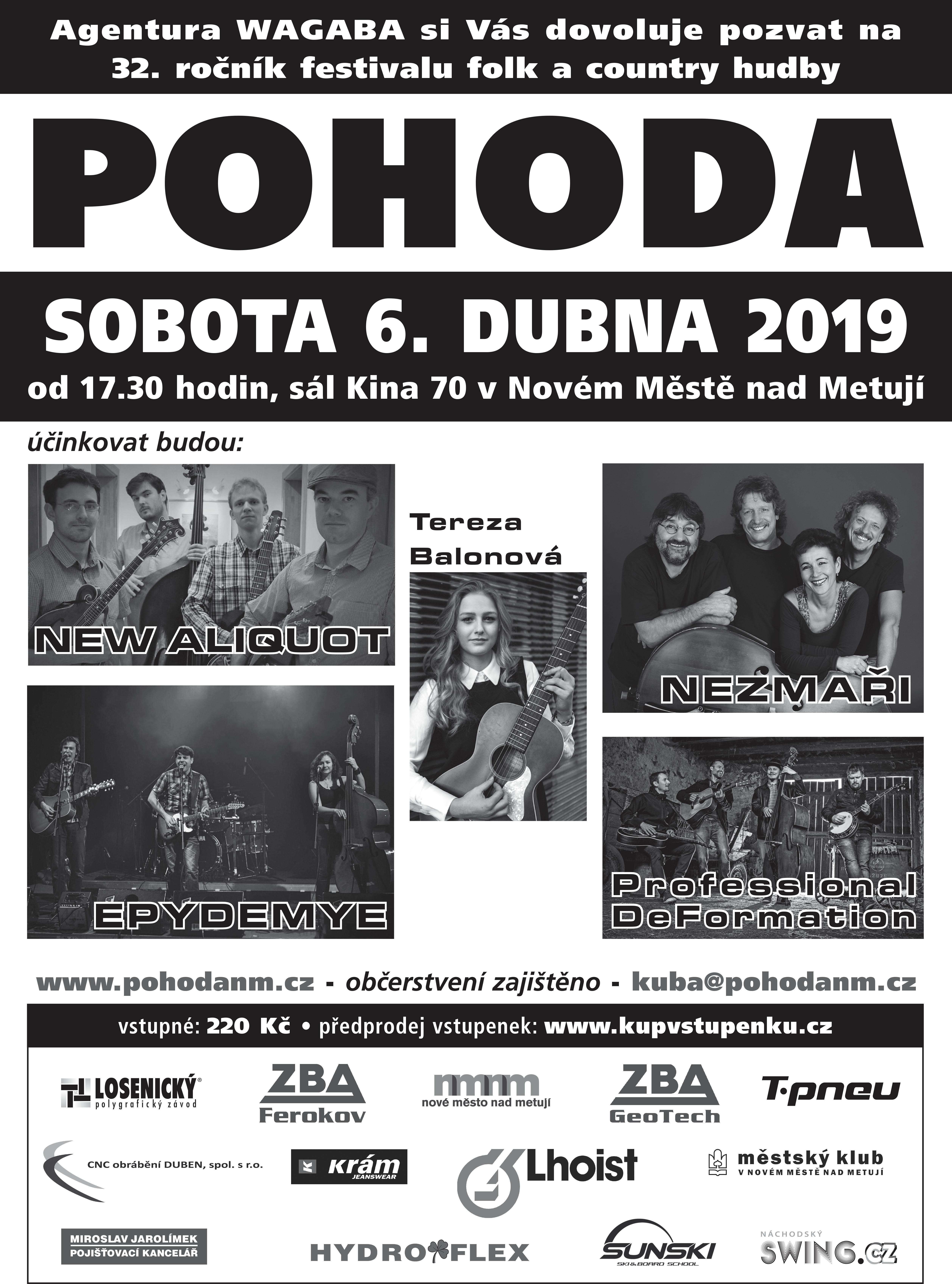Plakát Pohoda 2019